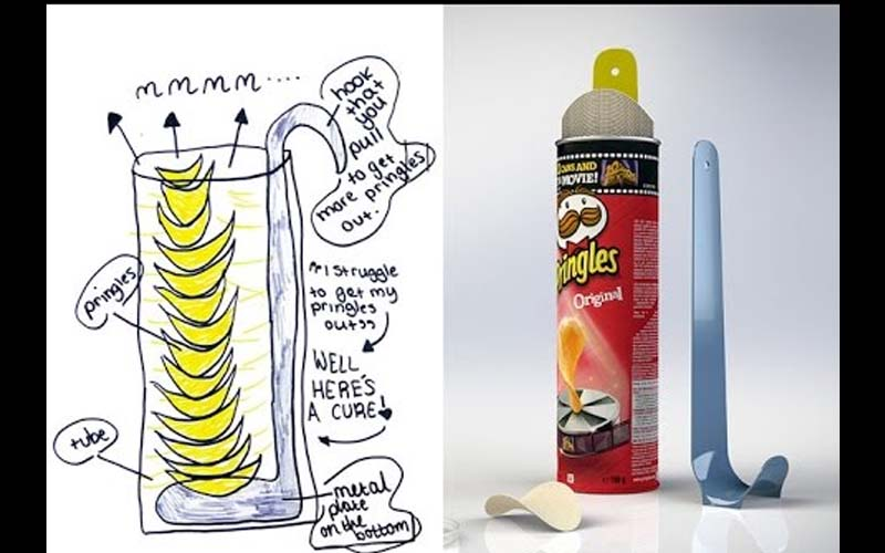 小小發明家們的10個想像力衝破天際的發明作品,看到第4個可真讓大人們都失控笑歪了嘴啊!  -