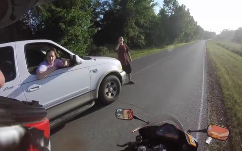 逆向行駛還敢口出狂言的司機以為大聲就贏了?完全沒想到自己會有這樣的下場阿...嘖嘖!(圖+影)