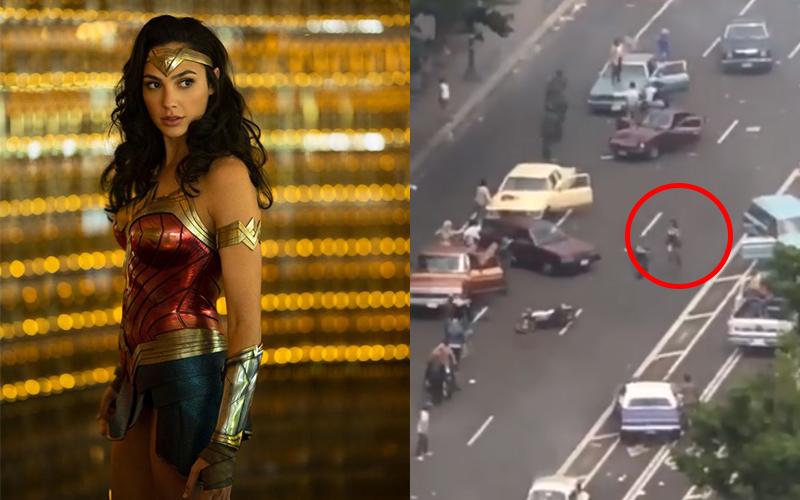 蓋兒加朵《神力女超人2》拍攝現場超猛,大長腿狂奔「速度超神」網友讚:不愧是當過兵的!