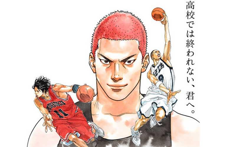 井上雄彥時隔多年再度拿起畫筆畫下灌籃高手,讓眾多網友都想噴淚了!回憶滿點啊!