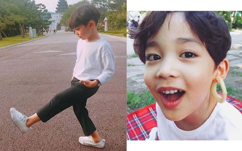 四個萌娃潛力股,未來肯定會像韓國歐巴一樣迷人的帥寶寶們,這爸媽的基因不容小覷阿!!