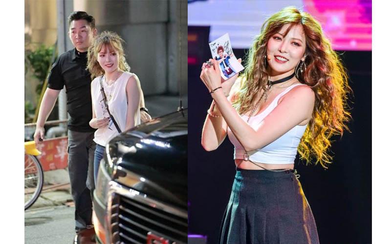 超人氣南韓「小野馬」泫雅來台辦見面會,結束後直奔「東區逛街」粉絲超嗨,但她不小心把台灣當成是中國…