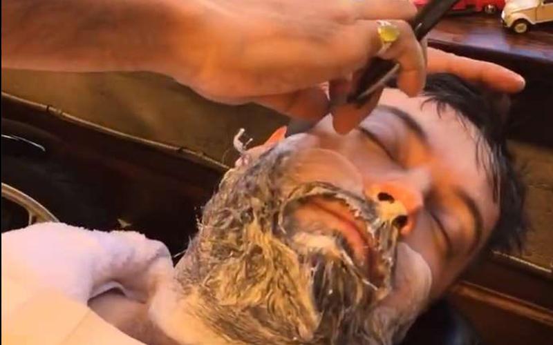 這段「把滿臉鬍子全部刮掉」的影片已經療癒萬人心,每一個步驟都讓人看到欲罷不能啊!(圖+影)
