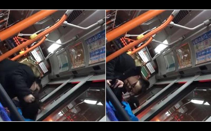 坐博愛座「不爽被叫大嬸」日本20歲櫻花妹怒了!直接在公車上痛毆暴打少年:阿就真的很像每(影)