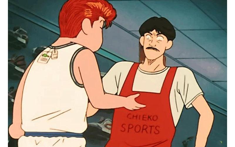 你還記得《灌籃高手》裡那個「送」櫻木球鞋的老闆嗎?沒想到這麼一個小配角背後的影響極大!