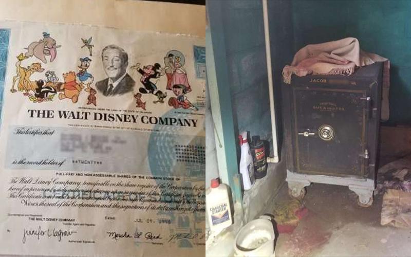他打開叔公的保險箱看到「華特迪士尼」的股份證書,財務顧問的回答讓他們驚呼「賺翻了」!