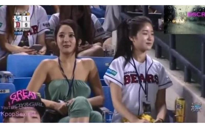 攝影師聚焦長達45秒! 韓國球場看臺上的女子好吸睛 [圖 影]