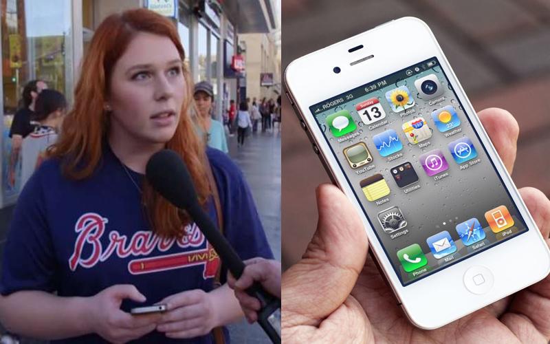 街頭實驗「拿iPhone 4假裝是 iPhone X給路人使用」,結果大家都上當還分享發自內心的使用心得!