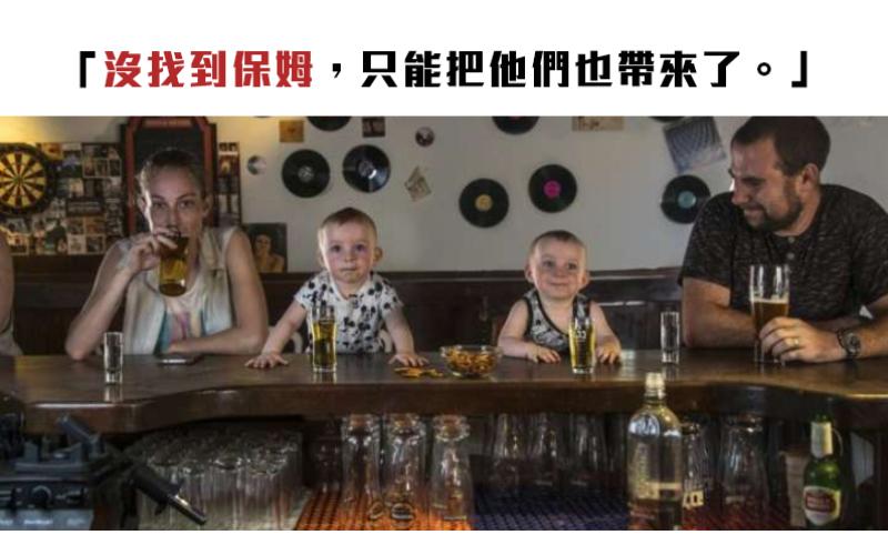 當攝影師變成了爸爸!親子照一張比一張更狂,雙胞胎要被玩壞了啦!