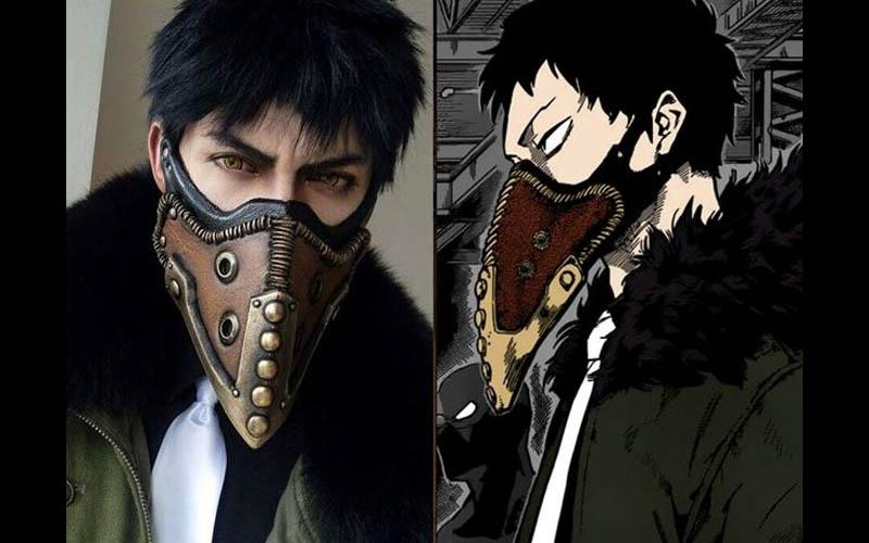 他曾是cosplay世界大賽冠軍,這次他挑戰海賊王裡的「鷹眼」密佛格,讓網友大呼根本神還原!
