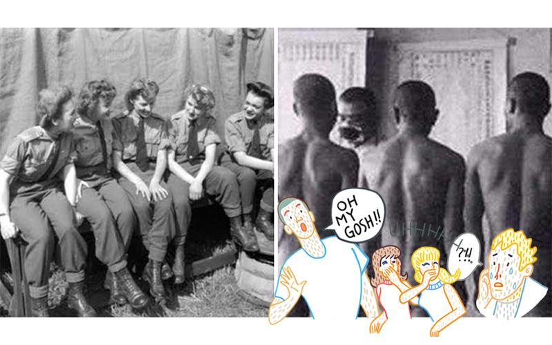 你知道除了慰安婦「其實還有慰安夫」嗎?日本男人當時必須任由美國女兵擺布「上下搖來搖去」!