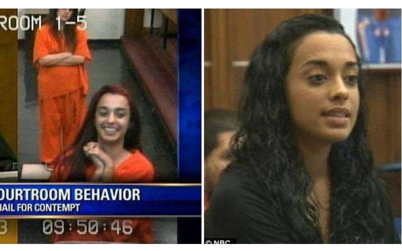 還記得對法官比中指的女犯人嗎?「入獄後學到教訓了」 再出現已是很正經的女孩