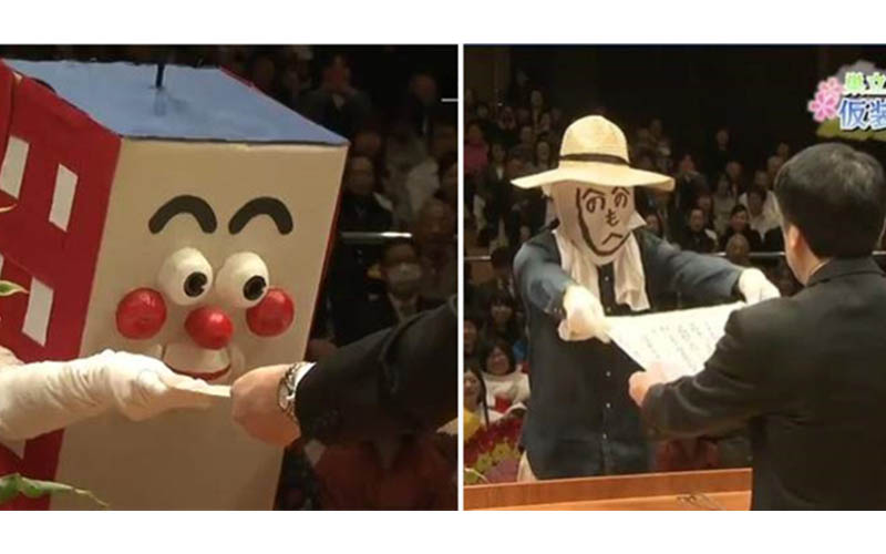 日本一年一度「超失控變裝畢業典禮」玩出新高度!頒證學長憋笑好辛苦