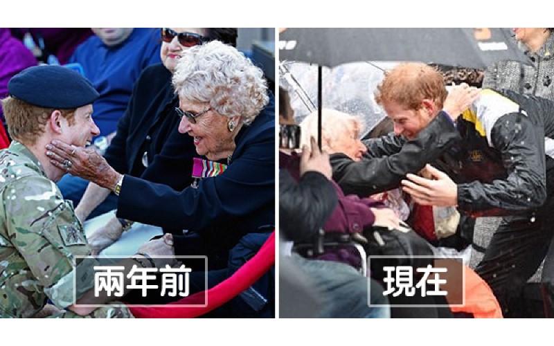 2年前見過一面…97歲老奶奶盼與哈利王子再重逢 王子人群中「一眼認出她」動作暖翻
