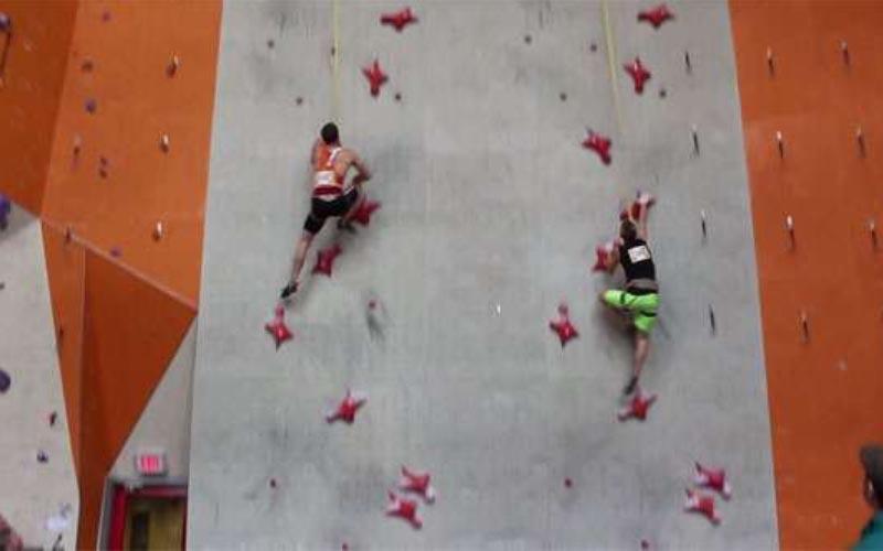 非人類!這名男子在15米攀岩賽以「5.5秒成功破世界紀錄」驚人速度連蜘蛛人都會怕!