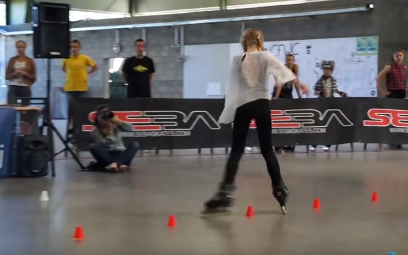 11歲女孩挑戰「高難度花式溜冰」嚇壞評審!最後展現超華麗旋轉全場嗨爆!