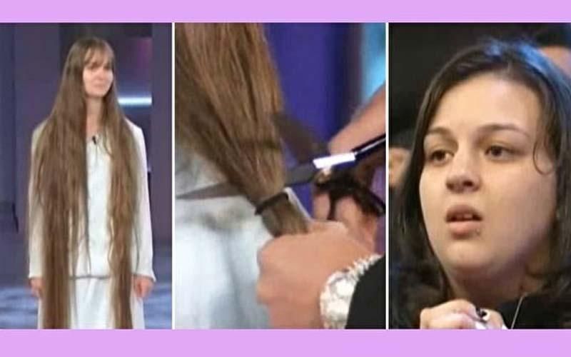 她剪去留了23年的長髮,外表瞬間從40歲變回23歲!未婚夫笑到合不攏嘴!
