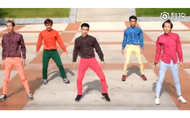 這個「泰國舞蹈太魔性」全程目不轉睛!亮點太多XD