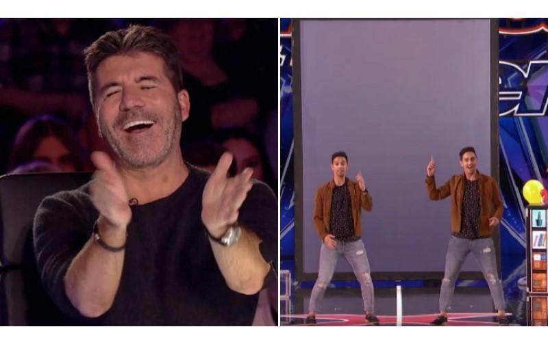這位男子表演「分身魔術」讓大家全看呆!最後還從螢幕變出「大量鈔票」讓全場嗨翻了!
