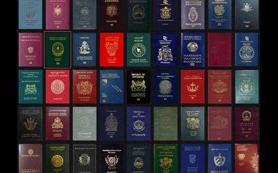 全世界的護照分「四種顏色」你知道為何台灣是綠色的...公開各國護照的秘密!