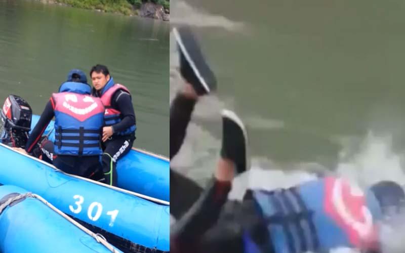 原住民救生員教大家怎麼使用快艇,結果一連串「原式幽默」讓大家笑到岔氣!