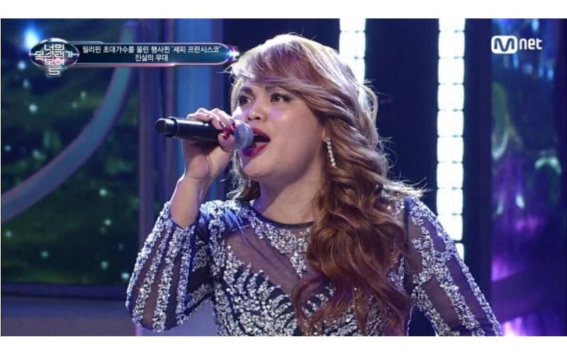 她參加歌唱比賽卻能「自己跟自己」男女對唱,「雙聲道切換」讓評審全起立尖叫!