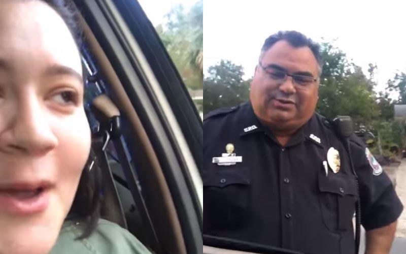 明明「沒違規卻被攔下」超火大,搖下車窗「警察謎之微笑」結局神展開!