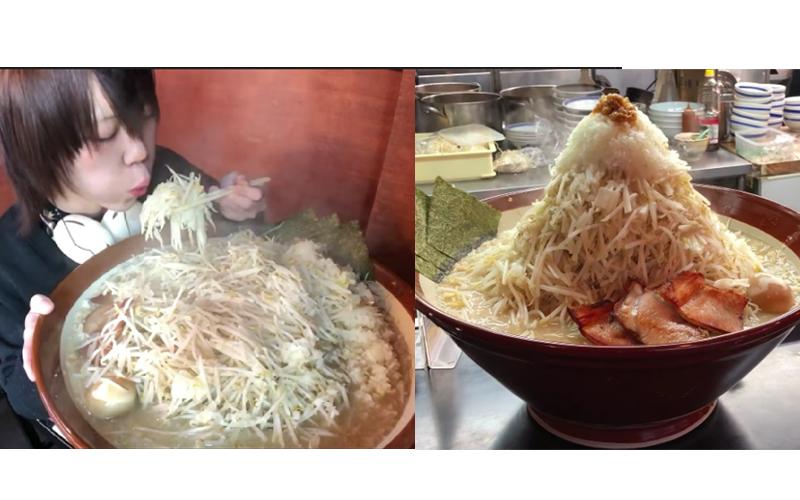 日本大胃王一人完食超浮誇「拉麵山」,這從容不迫的神情...大胃王4 ni?