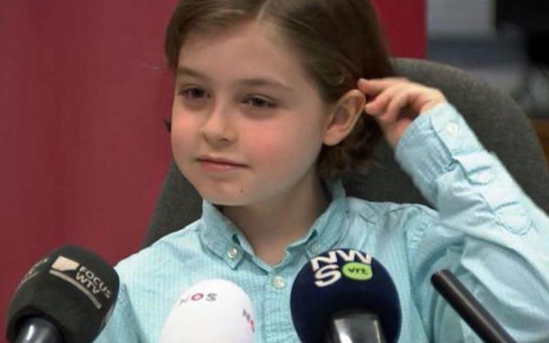 比利時IQ 145神童「1年半讀完6年課程」8歲就當大學新鮮人!