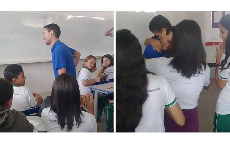 老師收不到薪水「睡在教室地板上」 學生偷偷準備「驚喜」淚流不止