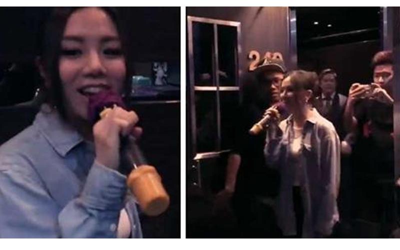 鄧紫棋突襲KTV,包廂內歡唱《光年之外》她開門驚喜現身「立馬辦起小小粉絲會」包廂瞬間嗨爆!
