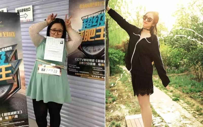210KG的女胖子遭男友嫌棄分手,3個月瘋狂魔鬼訓練「順利鏟40KG」搖身變大正妹!